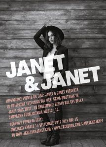 News: Janet & Janet presenta lo shortmovie 'Janet goes West'  http://progbackstage.wordpress.com/2012/09/12/news-janet-janet-presenta-lo-shortmovie-janet-goes-west/#