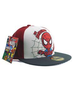 1a70a1105c2 New Era Tokidoki Spider-Man 59fifty Custom Fitted Hat 7 3 8 Simone Legno