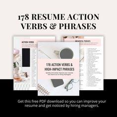 Executive Job Search, Executive Jobs, Resume Writing Tips, Resume Tips, Job Career, Career Advice, Great Resumes, Action Verbs, Job Search Tips