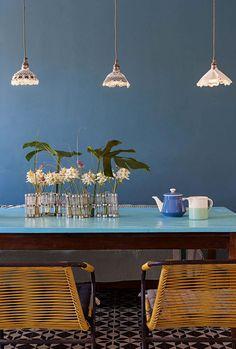 Les meubles chinés de la salle à manger