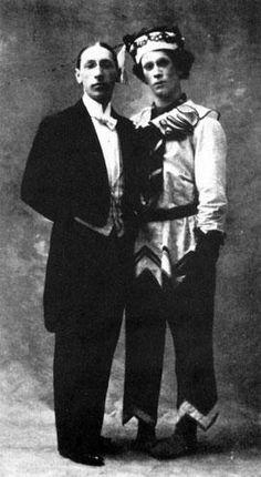 stravinsky + nijinsky in 1913!!!!!!!