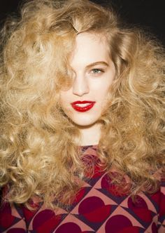 brushed out curly hair - Google Search