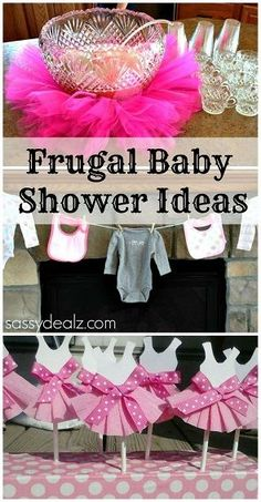 Baby Girl Shower Ideas on a Budget - Crafty Morning