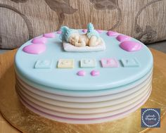 Baby's First Month Agar Agar Cake* Jelly Desserts, Cute Desserts, Dessert Recipes, One Month Baby, Gelatin Recipes, Jelly Cake, Moon Cake, Agar, Birthday Decorations