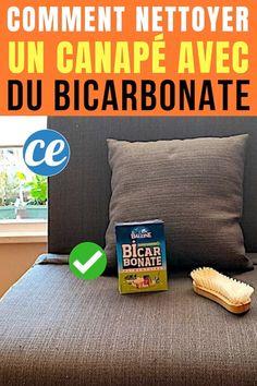 Comment Nettoyer un Canapé en Tissu Avec du Bicarbonate (Facile Et Rapide).