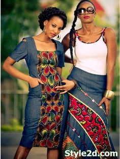 african fashion week Jeans and Prints 2014