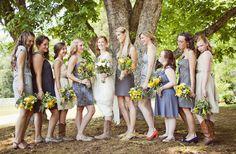 Ideas for Choosing Bridesmaid Dresses – Calgary wedding planning tips