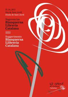 Celebramos el Día de #SantJordi en Madrid con nuestros amigos del @CCBlanquerna. Gracias
