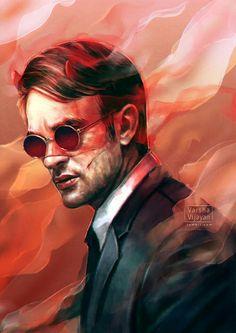 Marvel Drawing A. — varshavijayan: Hey y'all new painting because. Batwoman, Nightwing, Daredevil Matt Murdock, Daredevil Punisher, Wolverine, Dc Comics, Marvel Fan, Marvel Heroes, Marvel Defenders