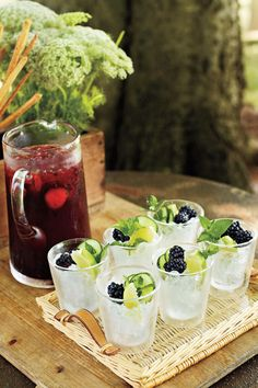Cool, Refreshing Summer Drink Recipes: Blackberry Cocktail