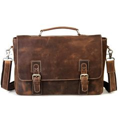 Leather Briefcase - Vintage