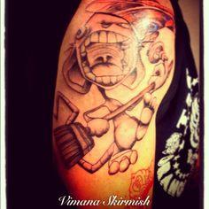 Vimana Skirmish - Jamie Johnson Artwork - looosidart tattoo. Super stocked! - @aoju- #webstagram