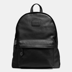 COACH CAMPUS backpack in pebble leather. #coach #bags #leather #lining #backpacks #