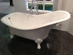 Victoria + Albert Drayton bath - a tweak of the traditional slipper bath