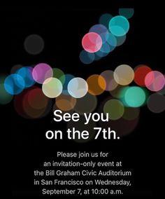 La Keynote du 7 septembre se prépare à suivre sur iPhoneAddict