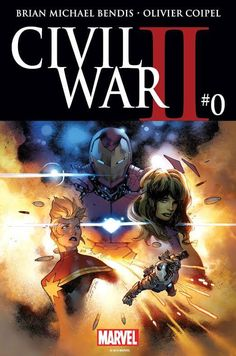 Civil War II #0, Hollow, listless, and wholly unnecessary, Civil War II #0 lacks a single engaging element as it forcefully sits you down to listen to its well-worn premise,  #AlexMansfield #BrianMichaelBendis #CaptainMarvel #CivilWar #CivilWarII #CivilWarII#0 #JustinPonsor #Marvel #MarvelComics #OlivierCoipel #review #shehulk #VC'sClaytonCowles