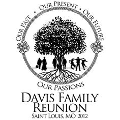 Black Family Reunion Logo by Mr. Lane Emmerich V - Reunion ideas - Family Reunion Tshirt Design, Family Reunion Quotes, Family Reunion Themes, Family Reunion Activities, Family Reunion Shirts, Family Reunions, Family Quotes, Family Logo, Family Family