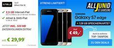 Samsung Galaxy S7 EDGE ab 4,95€ mit Handyvertrag http://www.simdealz.de/vodafone/galaxy-s7-edge-vertrag/