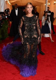 Beyonce Knowles in Givenchy met-ball-faves