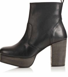 Discover the latest in women's fashion and new season trends at Topshop. Shop must-have dresses, coats, shoes and more. 90s Boots, New Love, Shoe Collection, Ankle Boots, Topshop, Footwear, Booty, Style Inspiration, Polyvore