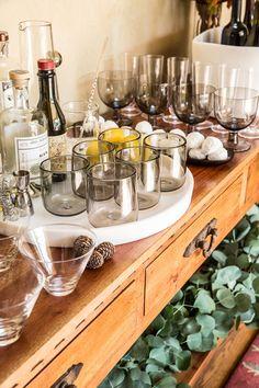 Mouthblown glassware, American Made