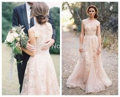 High quality wedding party dress light pink bateau tulle with a line tulle pleat cap sleeve sweetheart with lace appliques elegant bridal light pink wedding dresses junglespirit Choice Image