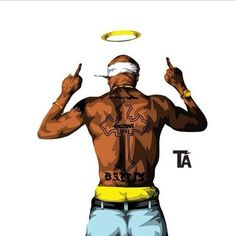 Image result for rappers drawn wallpaper