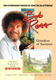 Beloved painter Bob Ross hosts this one hour instructional programming, walking viewers through a how-to on painting idyllic, nature and summer inspired images.