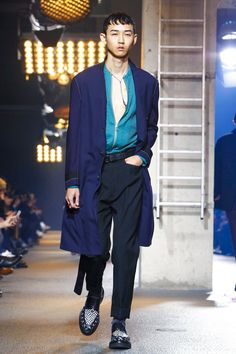 Lanvin's vision for fall 2016 men's wear.