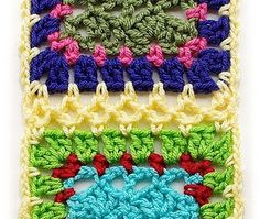 Great tips on how to join granny squares!