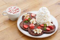 エッグスンシングスから、「スペシャルバレンタインパンケーキ」が期間限定発売!