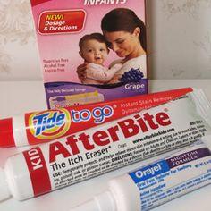 Post sobre os produtos de farmácia nos EUA para o enxoval do bebê Bernardo. O enxoval nos EUA vale a pena mas é preciso foco.