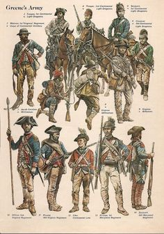 American soldiers at the battle of Guilford Courthouse, 15 March American Revolutionary War. American Revolutionary War, American Soldiers, Early American, American Civil War, American History, British History, Independence War, American Independence, Special Forces
