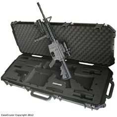 Universal KR model M4 / M16 gun case by GunCruzer