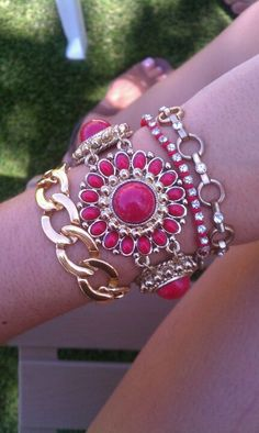Red & gold ARM party