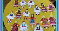 Χρόνια πολλά σε όλους τους Έλληνες!  Διπλή γιορτή, εθνική και θρησκευτική!  Οι κατασκευές μας για τη γιορτή:   Αγορίστικες και κοριτσίστικε...