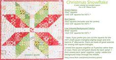 Christmas Snowflake Tutorial by wooden spoon, via Flickr