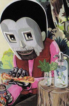 DOOM cookin in the kitchen Arte Hip Hop, Hip Hop Art, Illustrations, Illustration Art, Rap Wallpaper, Murals Street Art, Dope Art, Concert Posters, Collage Art
