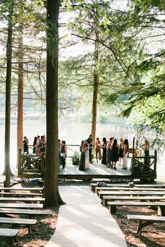 we should have kept our wedding where we originally had planned, look a little like this