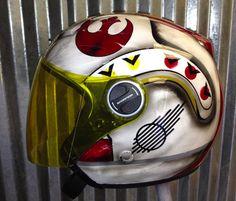 rebel alliance Motorcycle Helmet