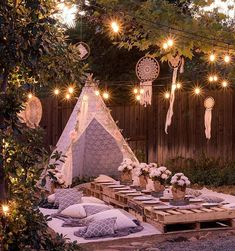 Planning an outdoor summer wedding? Get comfy and casual for your bridal shower … Planning an outdoor summer wedding? Get comfy and casual for your bridal shower …,zeki dogumgunu Planning an outdoor summer wedding? Outdoor Wedding Foods, Outdoor Wedding Centerpieces, Shower Centerpieces, Wedding Decorations, Wedding Ideas, Bohemian Party Decorations, Garden Party Decorations, Outdoor Weddings, Diy Outdoor Party Decorations
