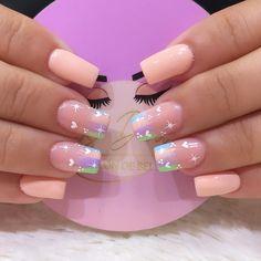 Nail Polish Designs, Nail Art Designs, Beauty Nails, Hair Beauty, Mermaid Nails, Pretty Nail Art, Stylish Nails, Manicure And Pedicure, Cute Nails