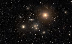 The Hydra Cluster of Galaxies   Image   (credit & copyright: Angus Lau)