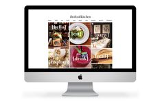 The Book Kitchen website by Smack Bang Designs. #WebsiteDesign #WebDesign #branding #SmackBangDesigns