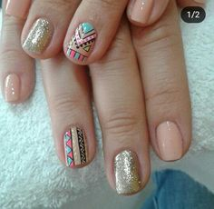 You should take good care of the nail shapes and nail models for Afil nails. Considering that your hands are under the confinement at first glance, you should give your hands as much importance as your makeup. Nail Shapes: Which is Your Model? Pink Glitter Nails, Pink Ombre Nails, Rose Gold Nails, Blue Nails, Nail Pink, Nail Nail, Almond Nails Red, Fall Gel Nails, Tribal Nails
