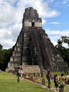 Tikal Mayan Ruins, Guatemala. Temple of the Jaguar. One of the most amazing places ever!