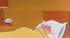 La Pantera Rosa con insomnio - 1 Ovejita, 2 ovejita, 3 ovejitas. Bee beeee Pink Panther Insomnia