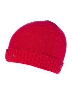 Cashmere Beanie Rojo - #Tommy Hilfiger