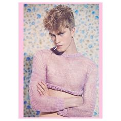 Blond Ambition! @charliebrama #Manuscript #CharlieAlexander #JolyonMason #LizHam #malemodel #malephotography #malefashion #editorial #ia #imageamplified #style #pink #spring2013 #2013 @troy_wise @5by5forever