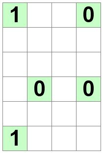 Number Logic Puzzles: 20348 - Binary size 0